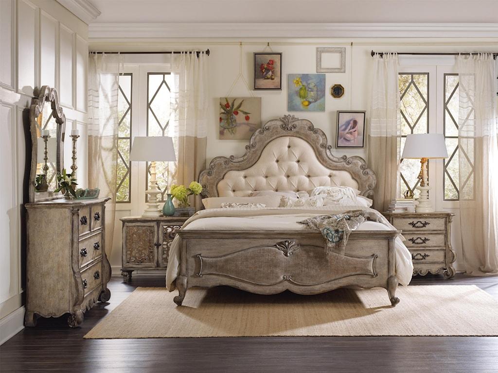 Hooker Furniture ChateletKing Bedroom Group