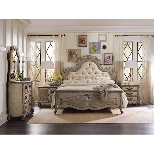 Hooker Furniture Chatelet King Bedroom Group