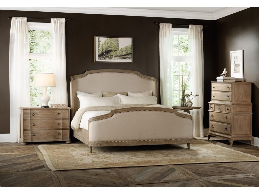 Hooker Furniture CorsicaCalifornia King Shelter Bedroom Group