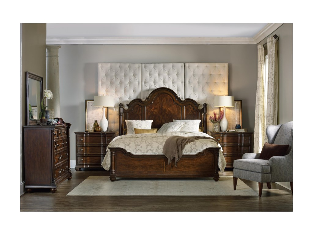 Hooker Furniture LeesburgQueen Bedroom Group