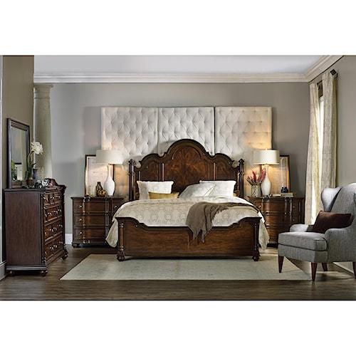 Hooker Furniture Leesburg King Bedroom Group