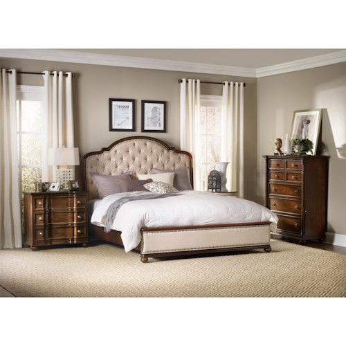 Hooker Furniture Leesburg Queen Bedroom Group