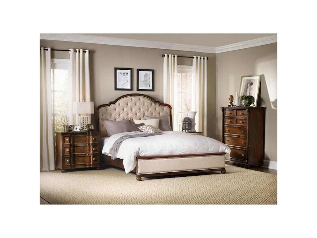 Hooker Furniture LeesburgQueen Bedroom Group