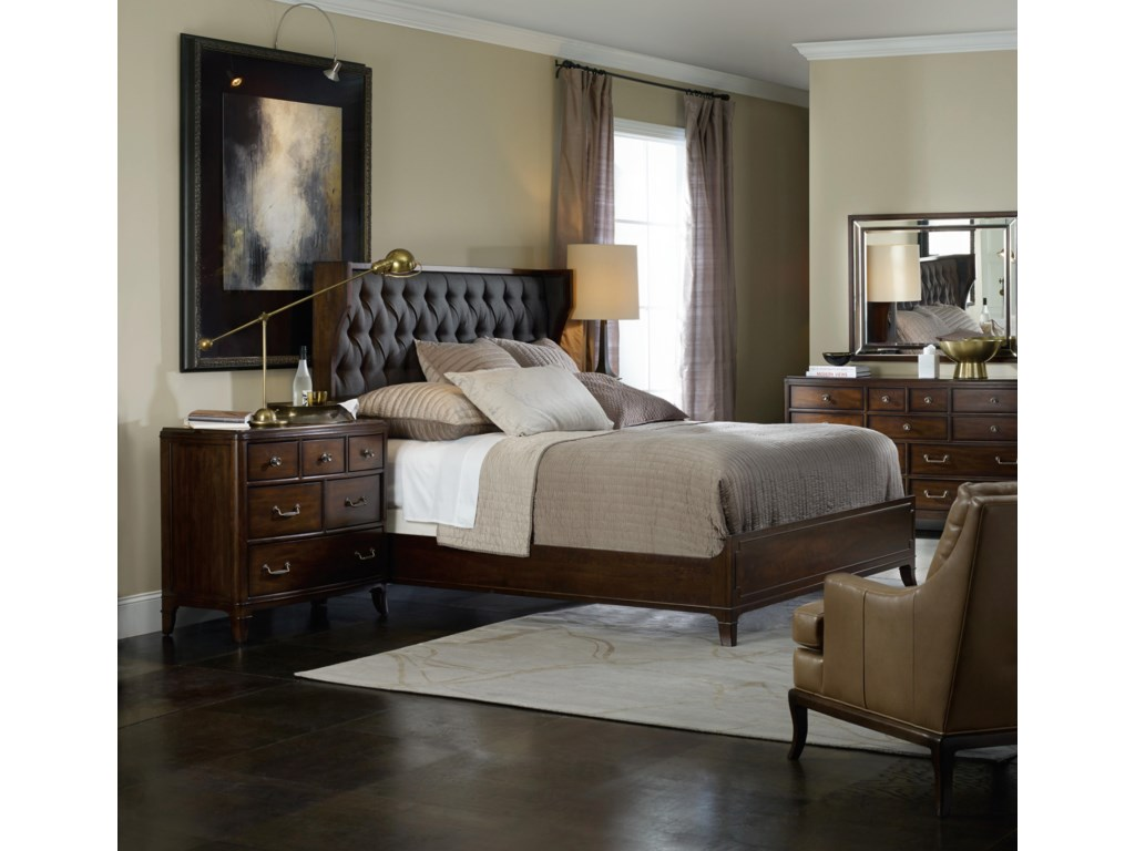 Hooker Furniture PalisadeQueen Bedroom Group