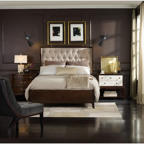 Hooker Furniture Palisade King Bedroom Group
