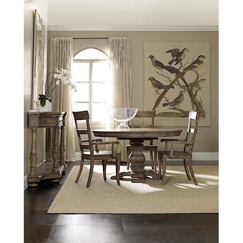 Hooker Furniture Sorella Formal Dining Room Group