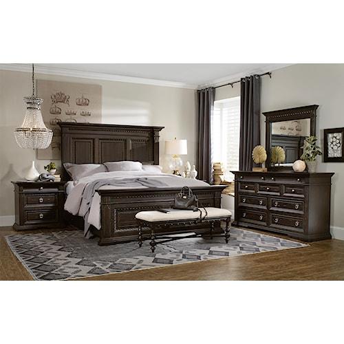 Hooker Furniture Treviso King Bedroom Group