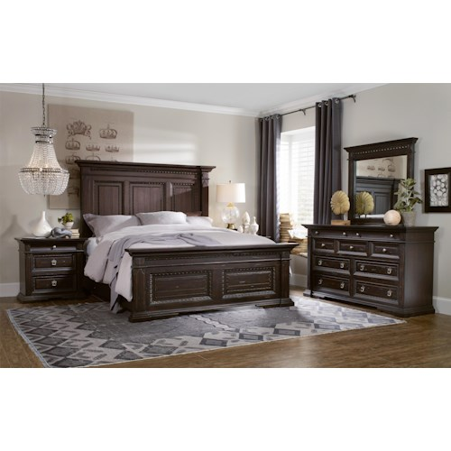Hooker Furniture Treviso California King Bedroom Group