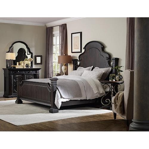Hooker Furniture Treviso Queen Bedroom Group