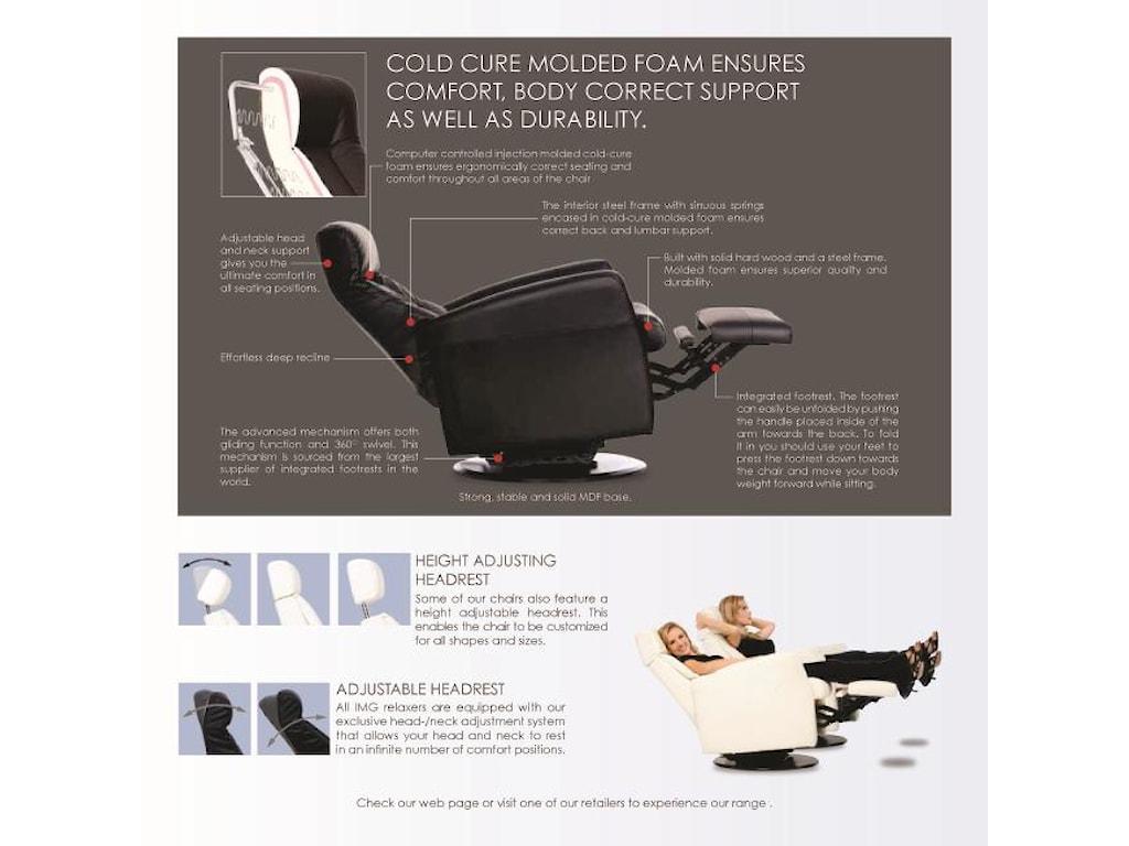 northern Designs CrownLarge Crown Relaxer Recliner