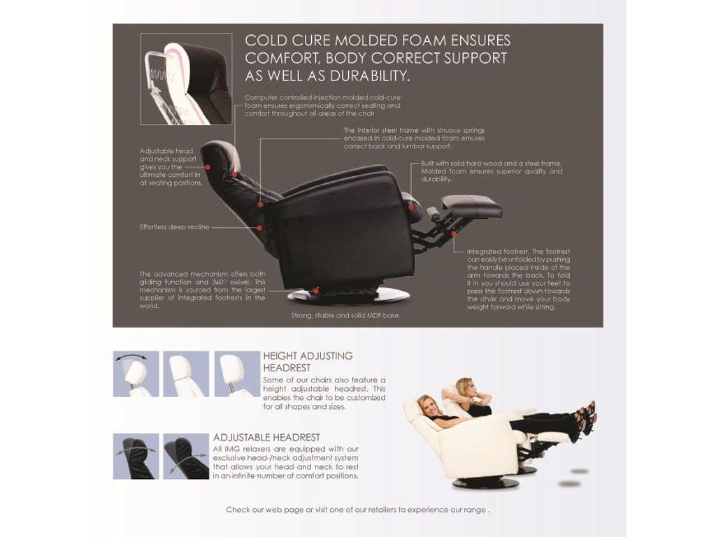 IMG Norway Divani Dual Motor Lift Chair