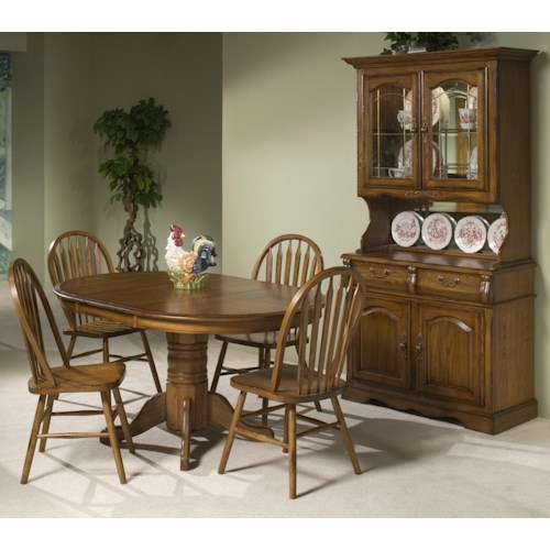 Intercon Classic Oak Casual Dining Room Group Wilson 39 S Furniture Casual Dining Room Groups