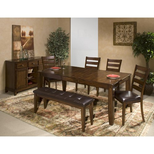 Intercon Kona Casual Dining Room Group