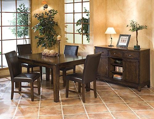 Intercon Kona Casual Dining Room Group