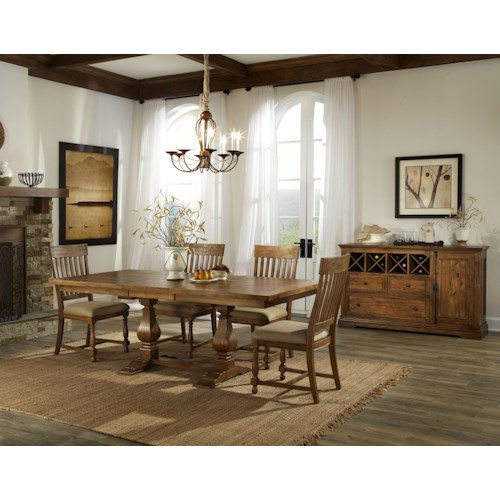 Belfort Select Loudoun Crossing Dining Room Group 2