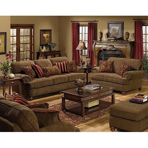 Jackson Furniture Belmont Stationary Living Room Group