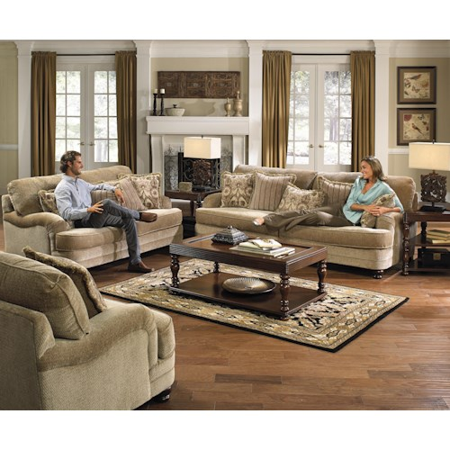 Jackson Furniture Brennan Stationary Living Room Group Efo Furniture Outlet Upholstery Group