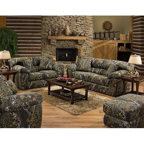 Jackson Furniture Big Game Stationary Living Room Group