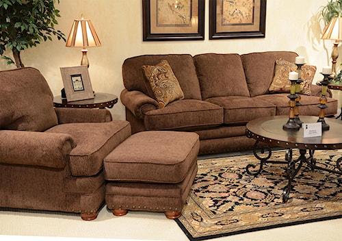 Jackson Furniture Braddock Stationary Living Room Group