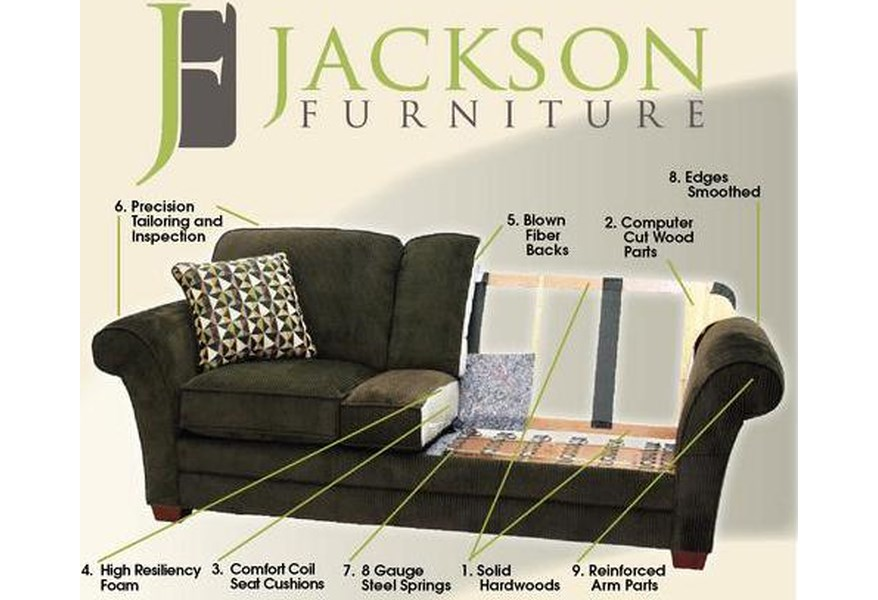 Jackson Furniture 4377 Everest 3 Piece Sectional With Lsf Section Northeast Factory Direct Sectional Sofas