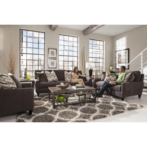 Jackson Furniture Mulholland Stationary Living Room Group