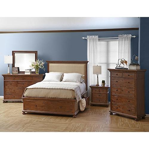 Jofran Geneva Hills Bedroom Group