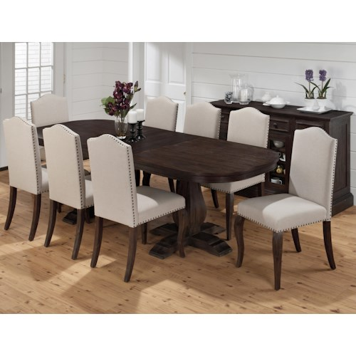Jofran Grand Terrace Formal Dining Room Group