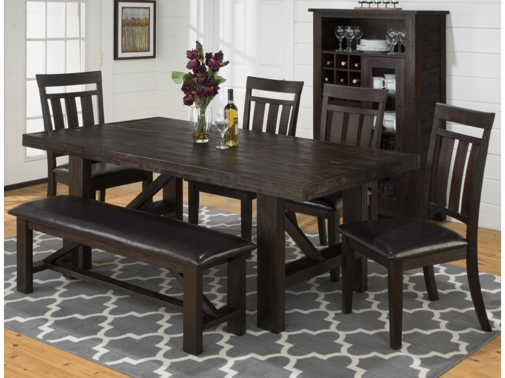 Jofran Mariposa GroveFormal Dining Room Group