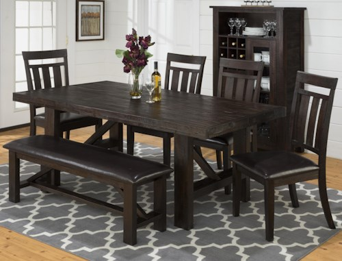 Jofran Kona Grove Casual Dining Room Group