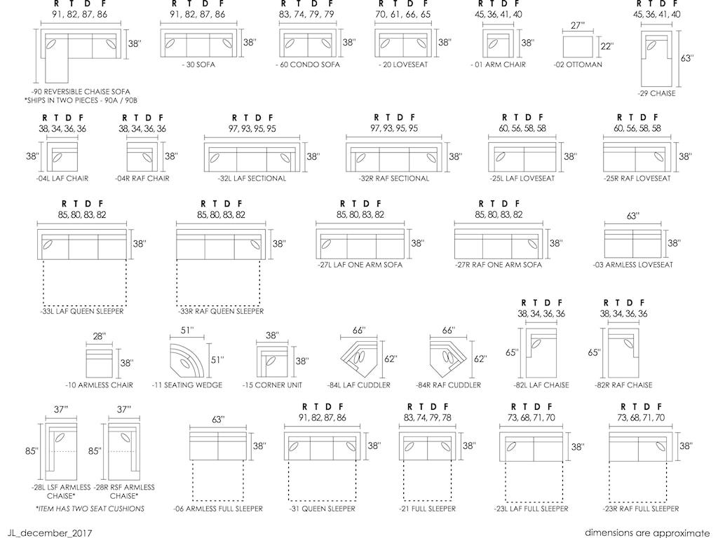 Jonathan Louis Choices - Taurus3-Piece Chaise Sectional