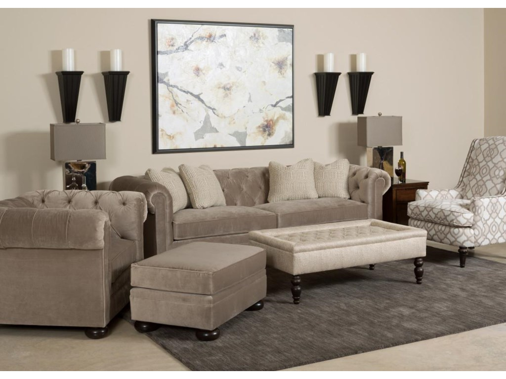Kincaid Furniture Camden Stationary Living Room Group