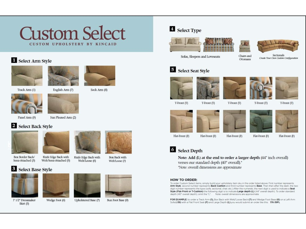 Create Custom Upholstered Sofas, Sectionals & More in Five Easy Steps!