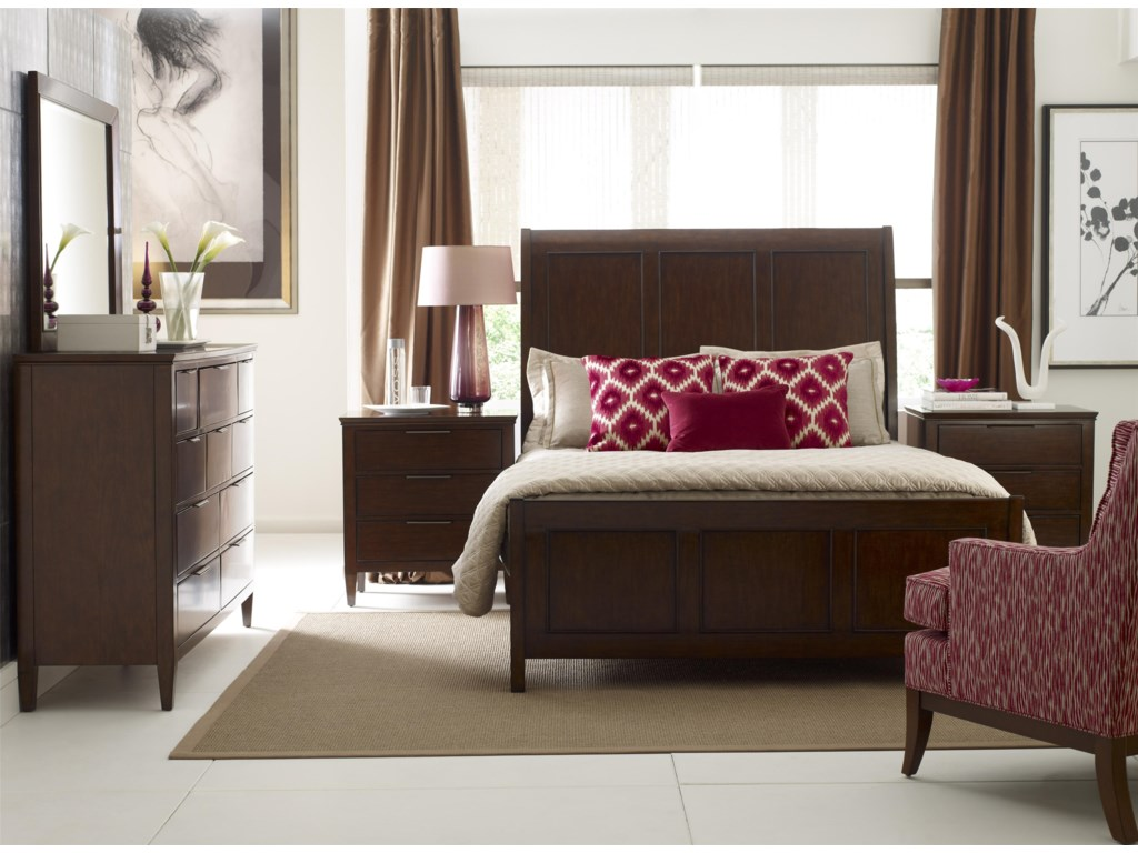 Kincaid Furniture EliseQueen Bedroom Group