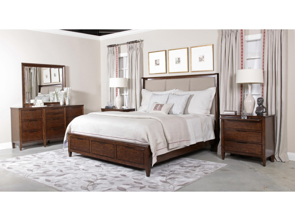 Kincaid Furniture EliseKing Bedroom Group