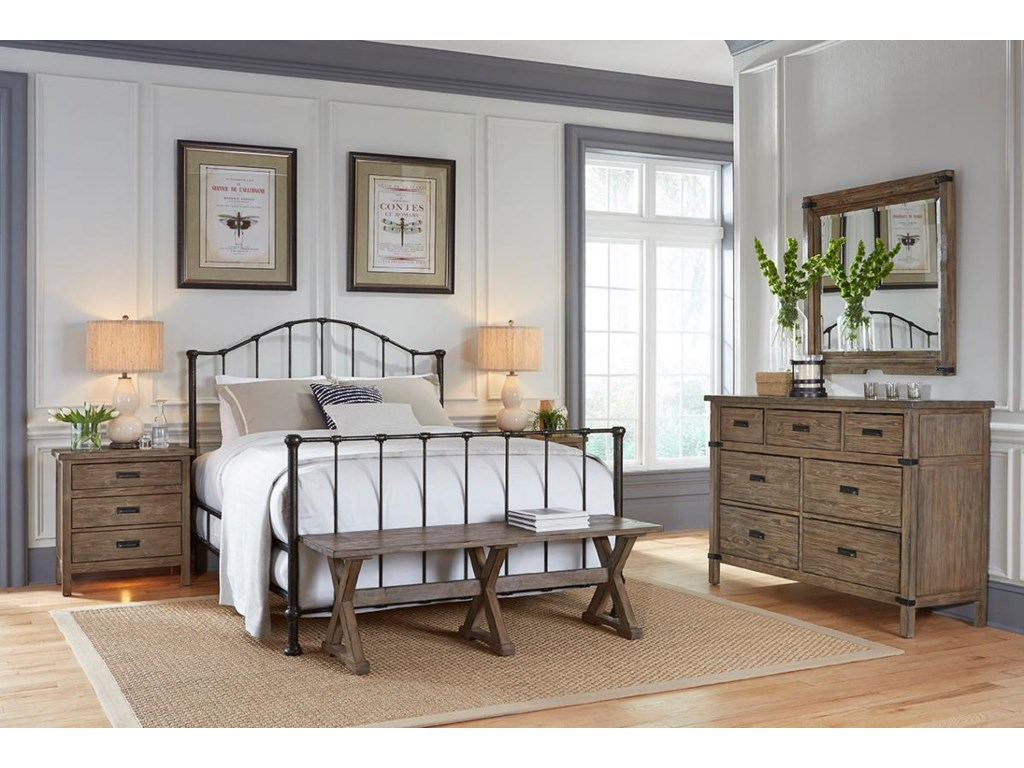 Kincaid Furniture FoundryQueen Bedroom Group