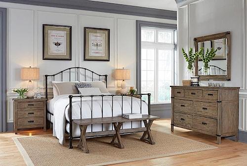 Kincaid Furniture Foundry King Bedroom Group