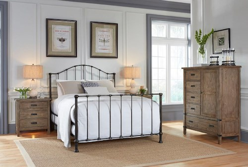 Kincaid Furniture Foundry Bedroom Group