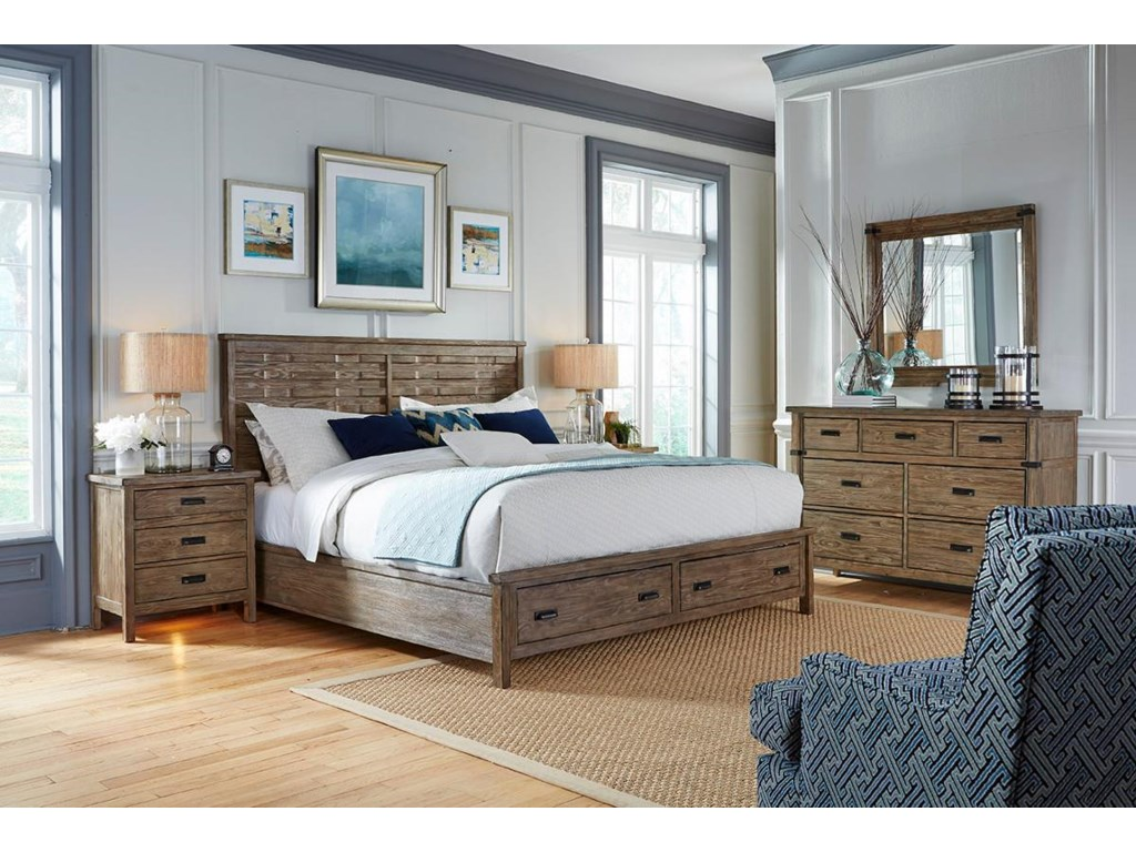 Kincaid Furniture FoundryKing Bedroom Group
