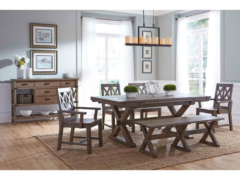 Kincaid Furniture FoundryFormal Dining Room Group