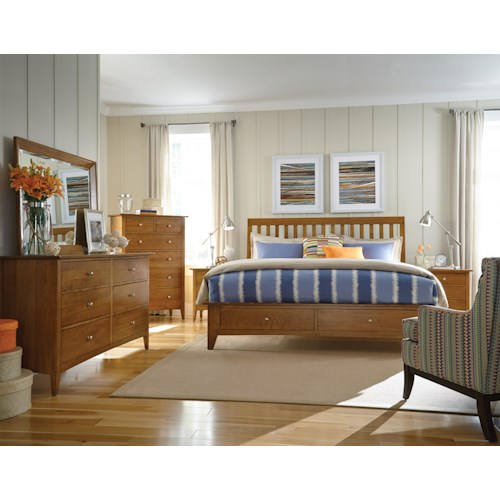 Kincaid Furniture Gatherings Queen Bedroom Group