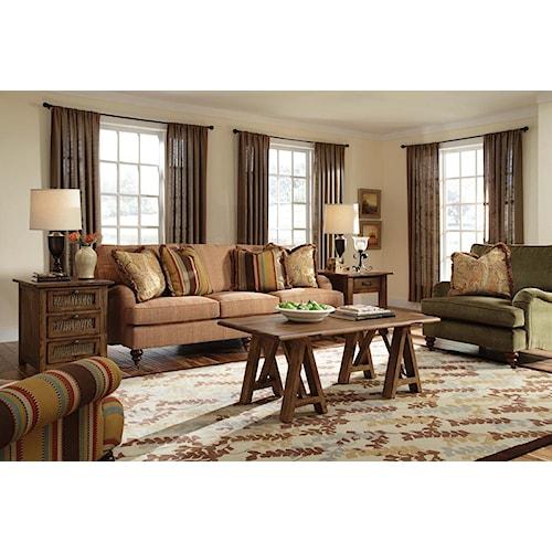 Kincaid Furniture Greenwich Stationary Living Room Group
