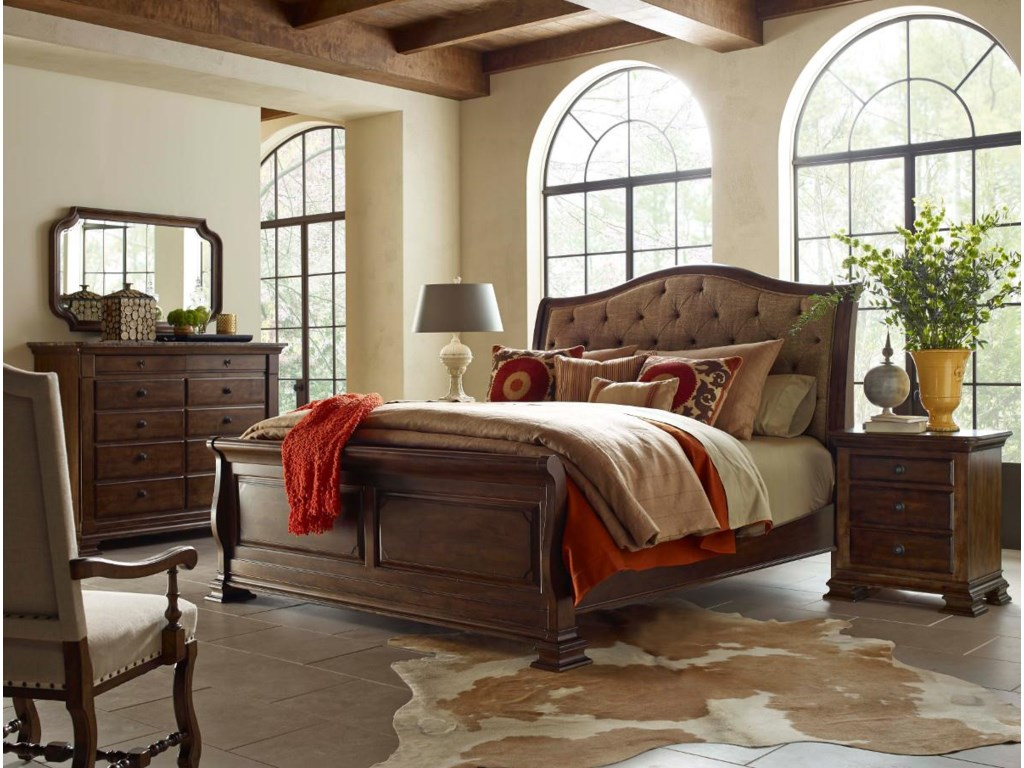 Kincaid Furniture PortoloneKing Bedroom Group