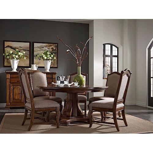 Kincaid Furniture Portolone Formal Dining Room Group