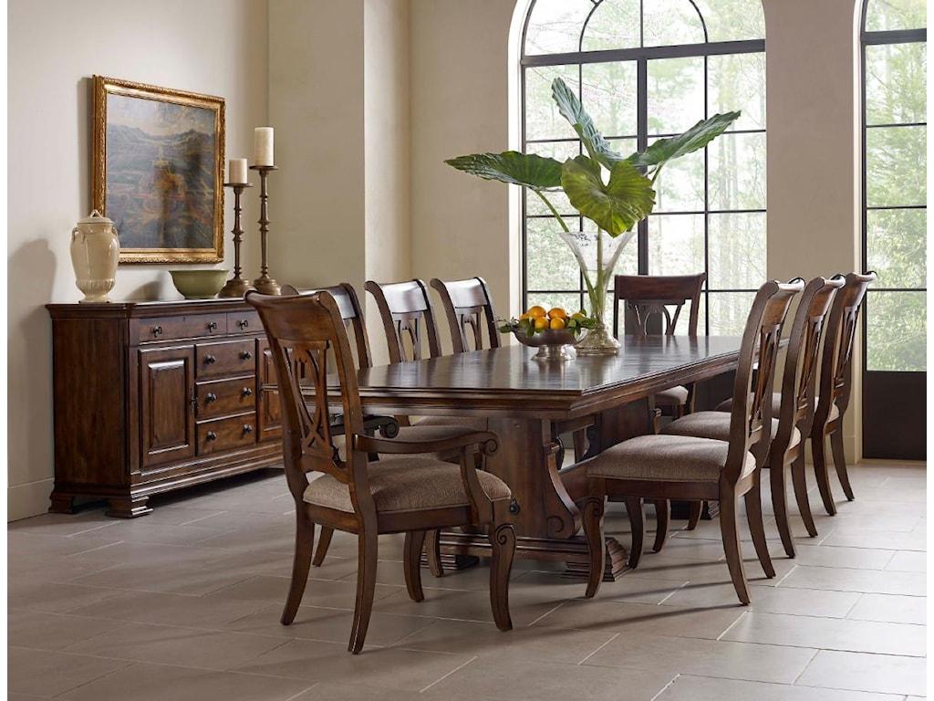 Kincaid Furniture PortoloneFormal Dining Room Group