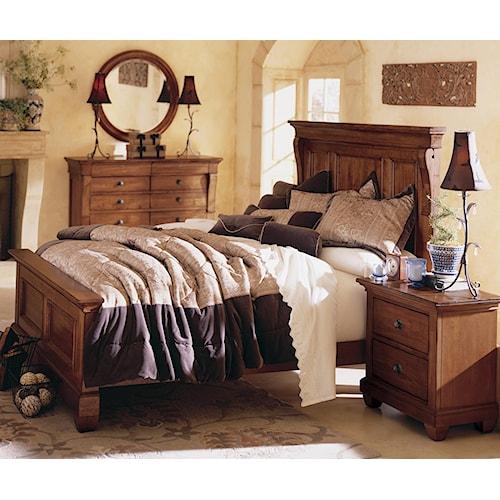 Kincaid Furniture Tuscano California King Bedroom Group