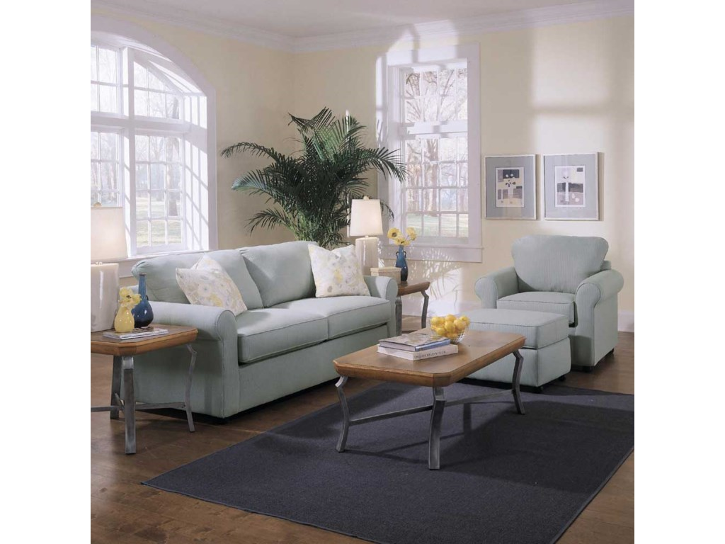Klaussner BrightonStationary Living Room Group