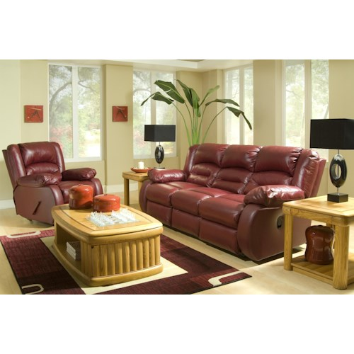 Klaussner Austin Reclining Living Room Group