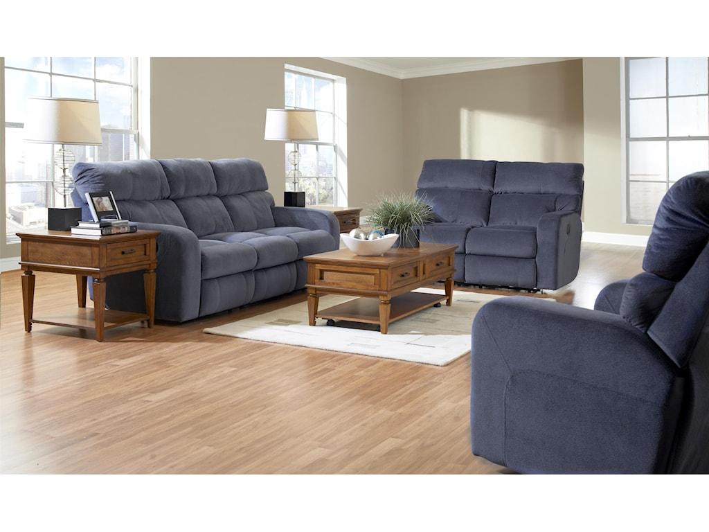 Klaussner BradfordReclining Living Room Group
