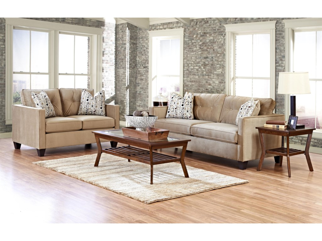 Klaussner Brower 943Stationary Living Room Group