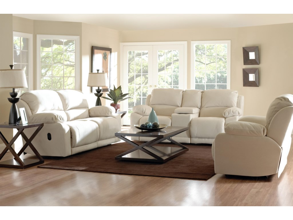 Klaussner CharmedReclining Living Room Group